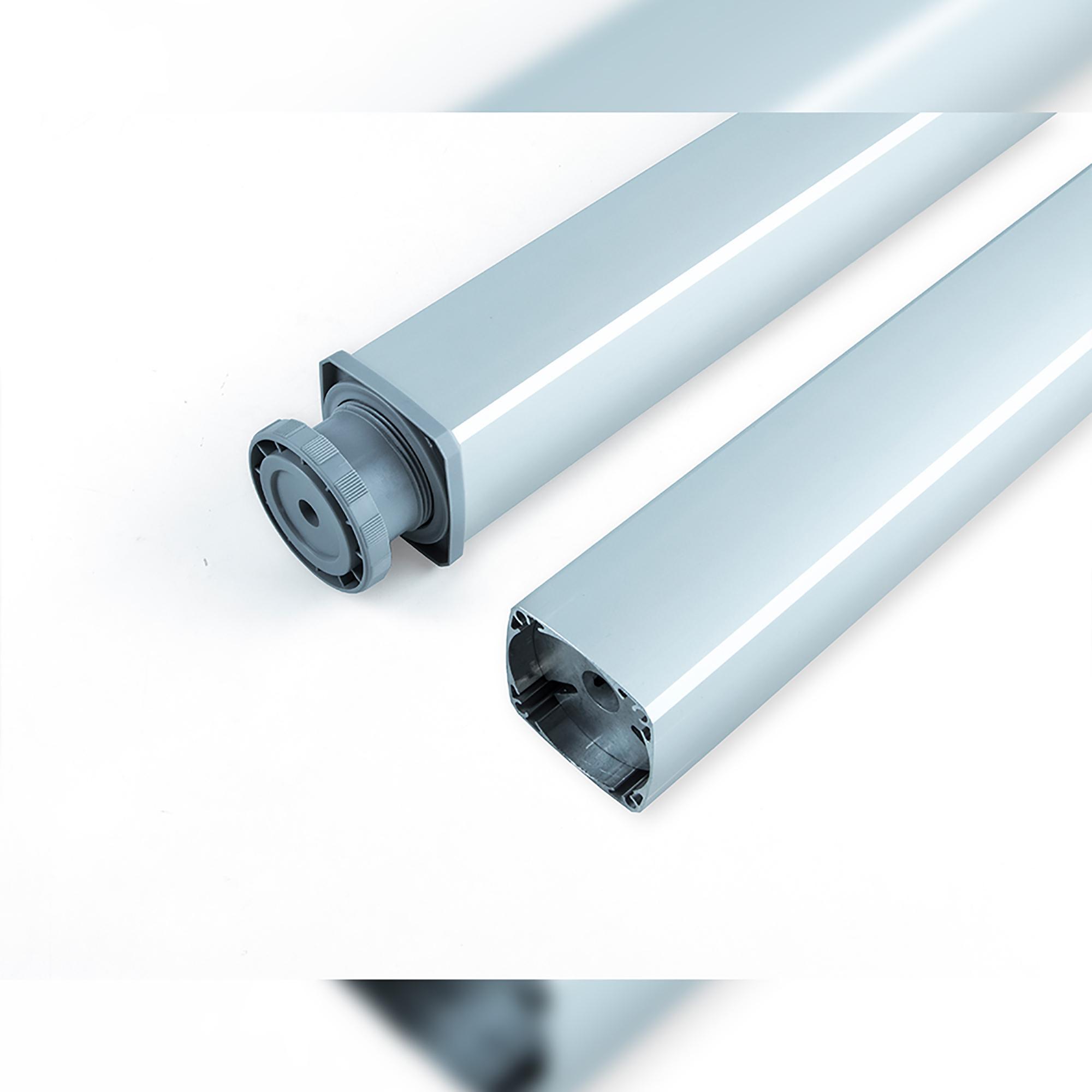 Gambe In Alluminio Per Tavoli.Gambe Regolabili Per Tavolo Fitwid Emuca In Alluminio Emuca