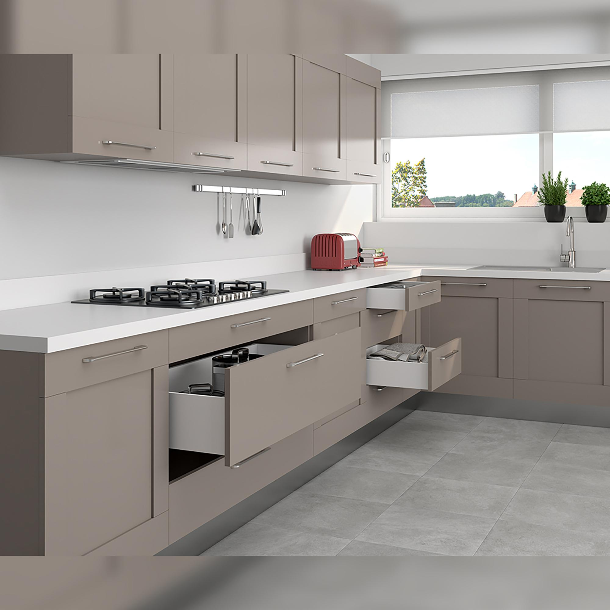 Schublade für Küche und Bad Concept Emuca