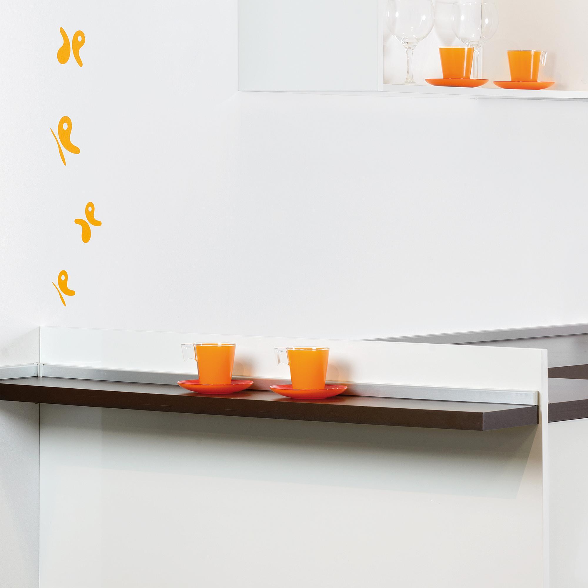 Alzatina rettangolare per cucina Mixline   Emuca