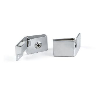 Emuca Batch hinges for glass door, inner edge
