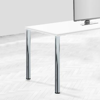 Emuca Adjustable table legs, D. 60 mm, Steel