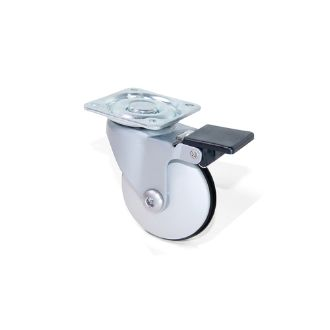 Emuca Caster wheels Slip with a mounting plate