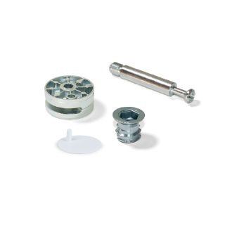 Emuca Cams and dowels kit and bolt M8