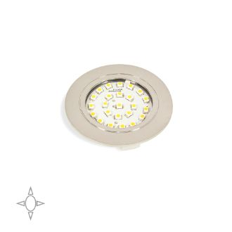 Emuca Foco LED Crux-in para empotrar con luz natural