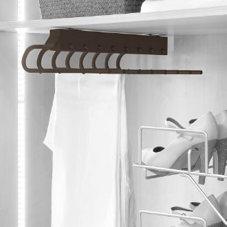 Emuca pull-out trouser rack