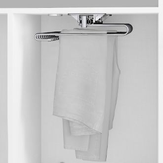 Emuca Self pull-out trouser rack