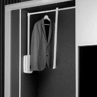 Emuca Folding hanger for wardrobe