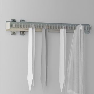 Emuca Keeper extractable lateral tie rack