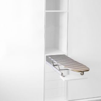 Emuca Extractable ironing board in steel