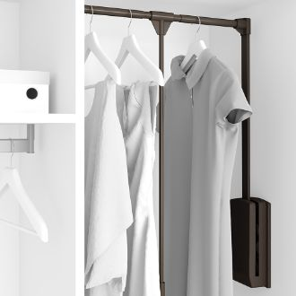 Emuca Hang Lift pull down wardrobe rail