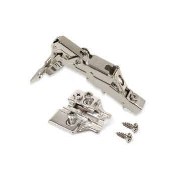 Emuca X91 Hinge, soft close, 165º opening, Euro screw