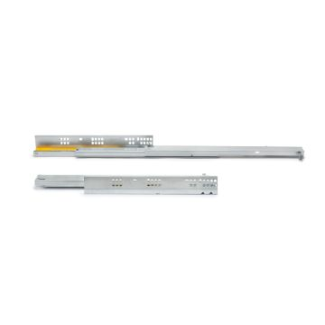 Emuca Silver concealed drawer runners with total extracion and soft closing