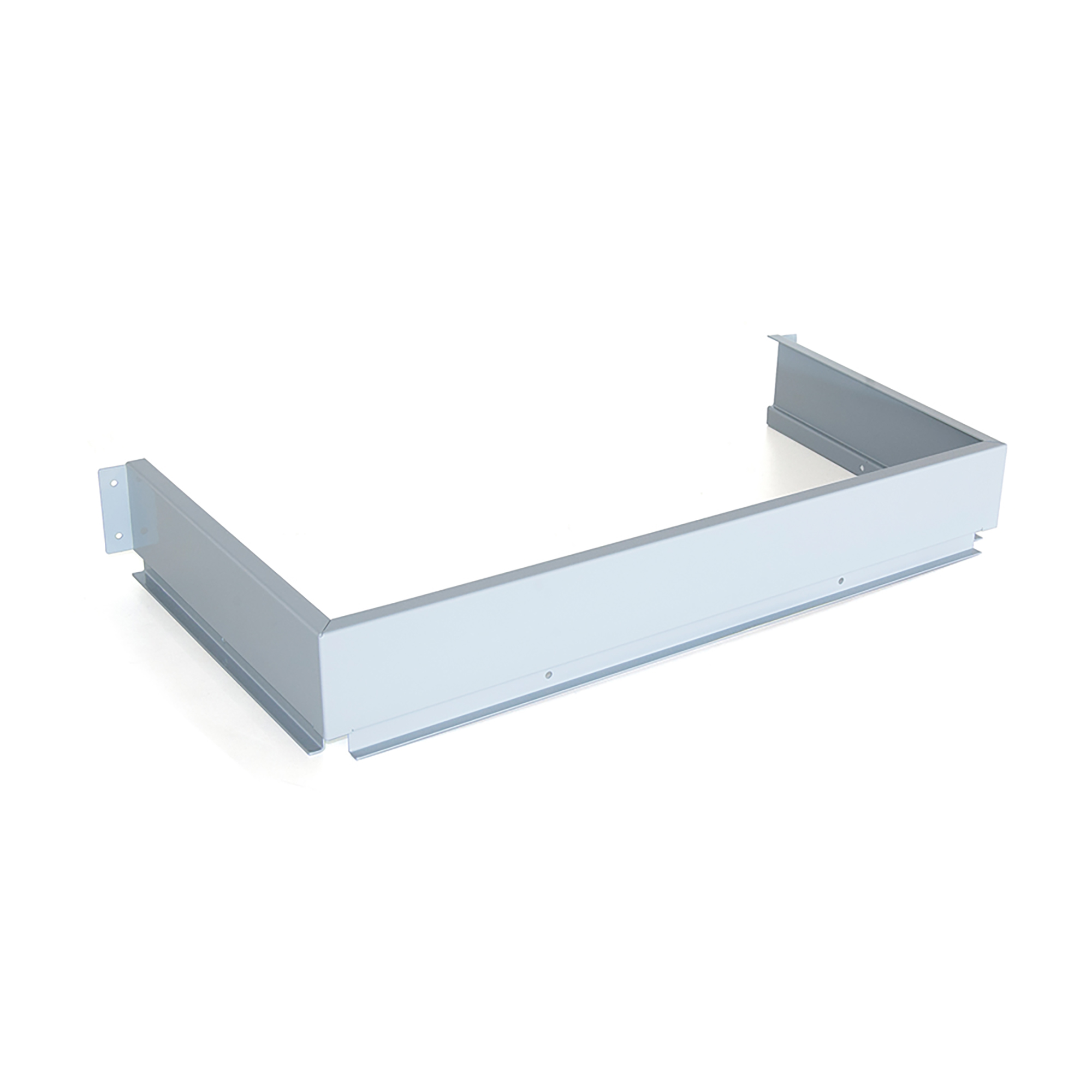 Emuca Schiena metallica per cassetti sotto lavello, Acciaio, Grigio metallizzato