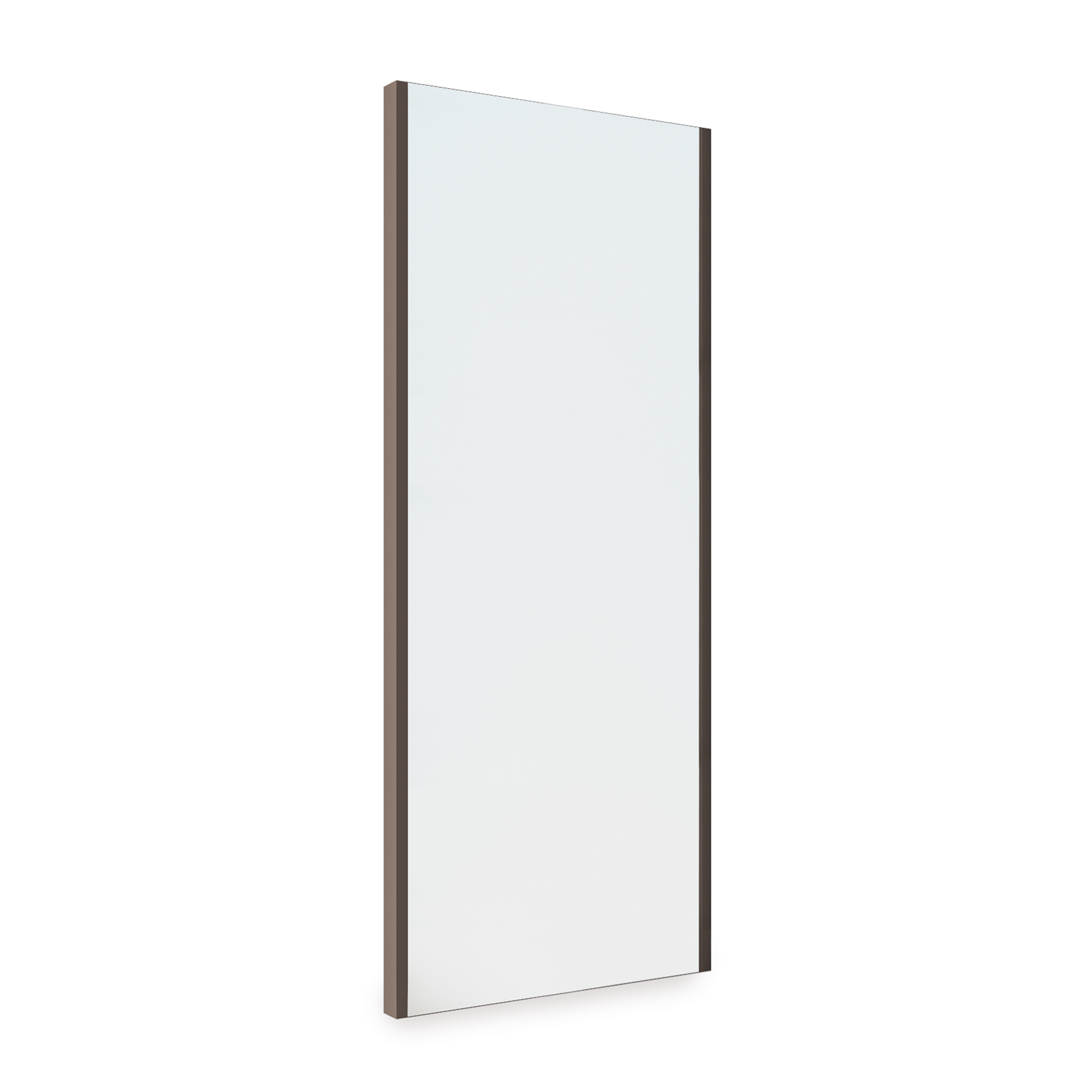 Emuca Specchio estraibile per interni di armadio, regolabile, 340 x 1000 mm, finitura moka.