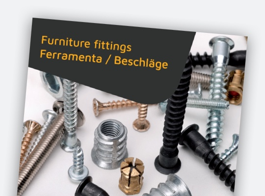 Furniture fittings catalog